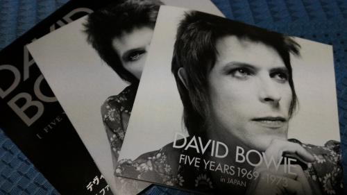 デヴィッド・ボウイ/ファイヴ・イヤーズ 1969-1973ボックスセット日本盤